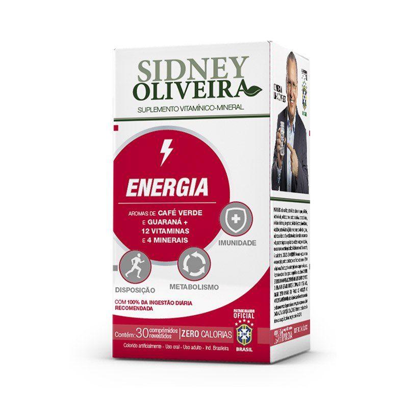 Energia Sidney Oliveira - 30 caps
