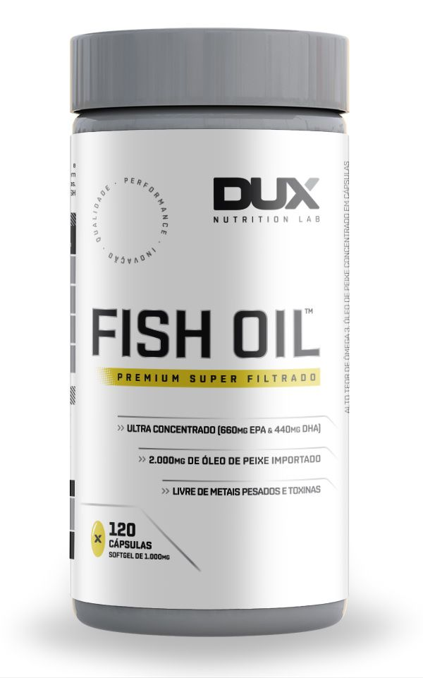 Fish Oil Ômega 3 DUX Nutrition - 120 caps