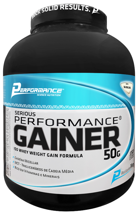 Gainer 50G Performance Nutrition - 3kg