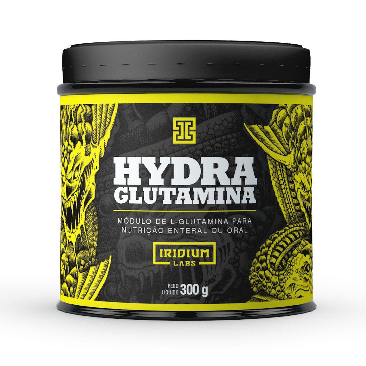 Glutamina Hydra Iridium Labs - 300g