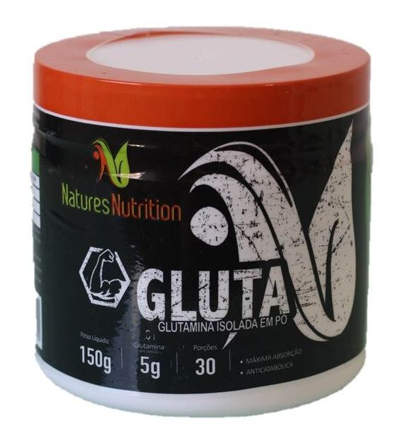 Glutamina Isolada Natures Nutrition - 150g