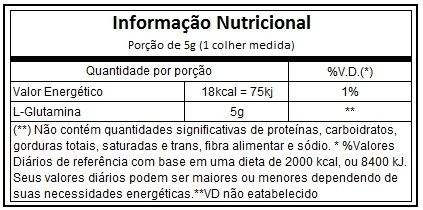 Glutamina Natures Nutrition - 300g