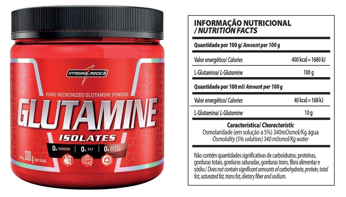 Glutamine IntegralMedica - 300g