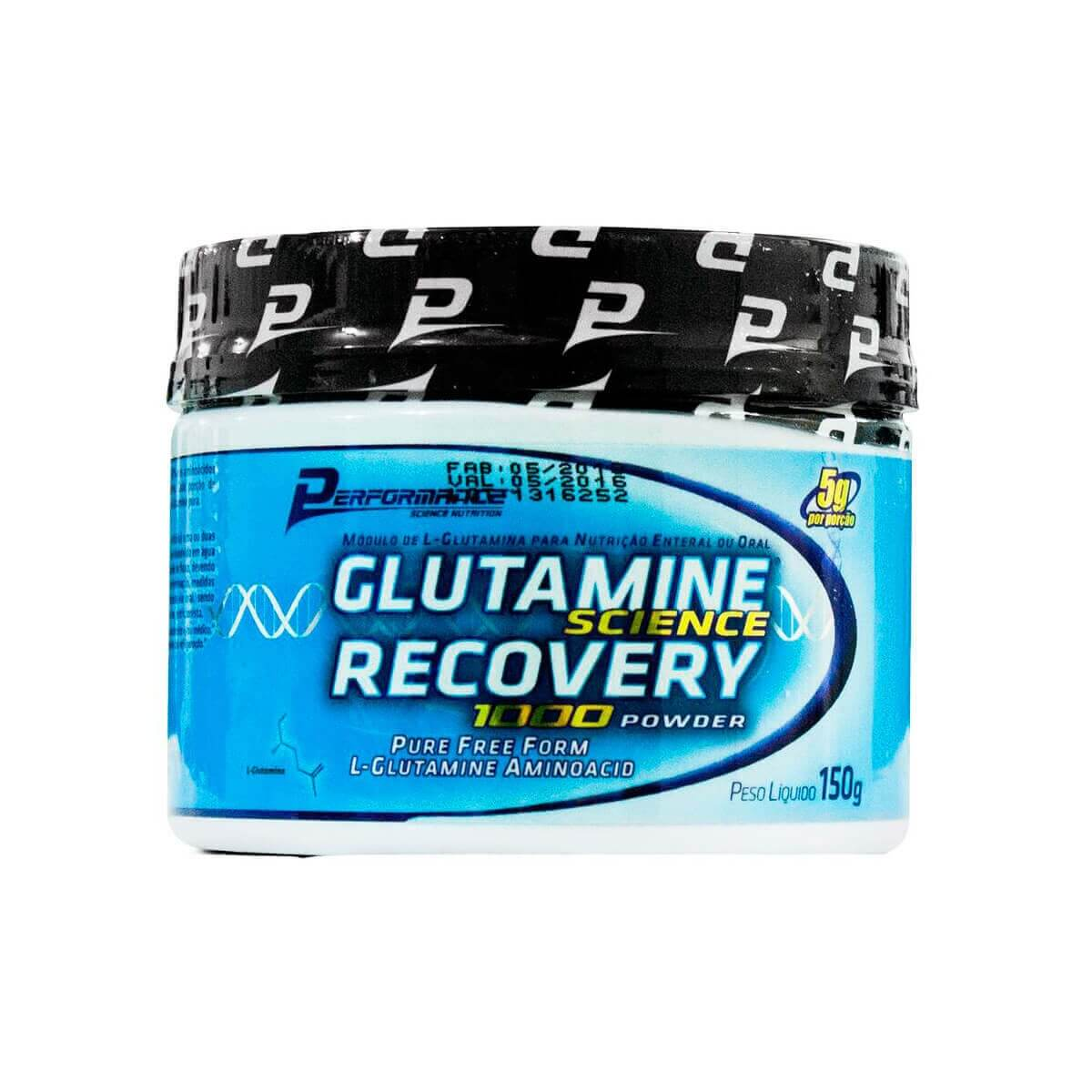 Glutamine Science Recovery 1000 Powder Performance Nutrition - 150g