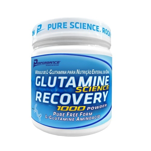 Glutamine Science Recovery 1000 Powder Performance Nutrition - 300g