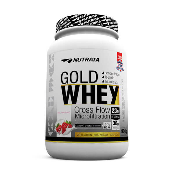 Gold Whey Nutrata - 900g