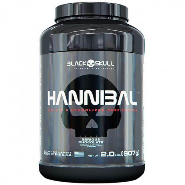 Hannibal Black Skull - 907g