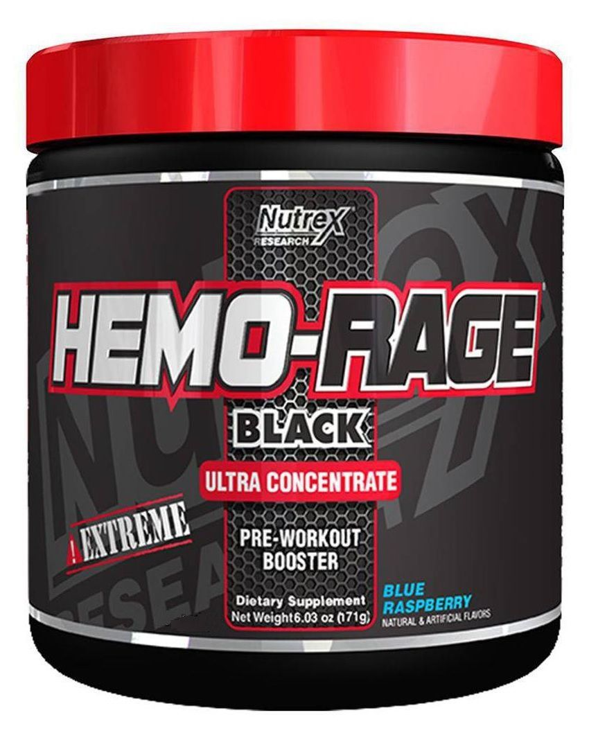 Hemo Rage Black Nutrex Research - 50 doses