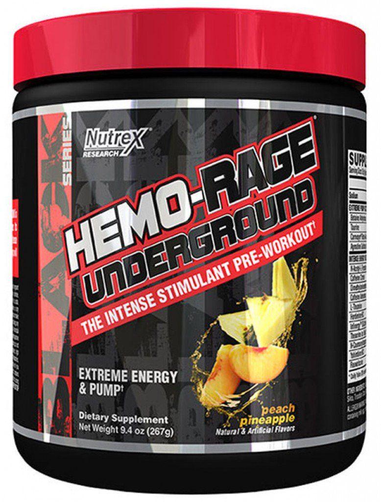Hemo-Rage Underground Nutrex Research - 282g