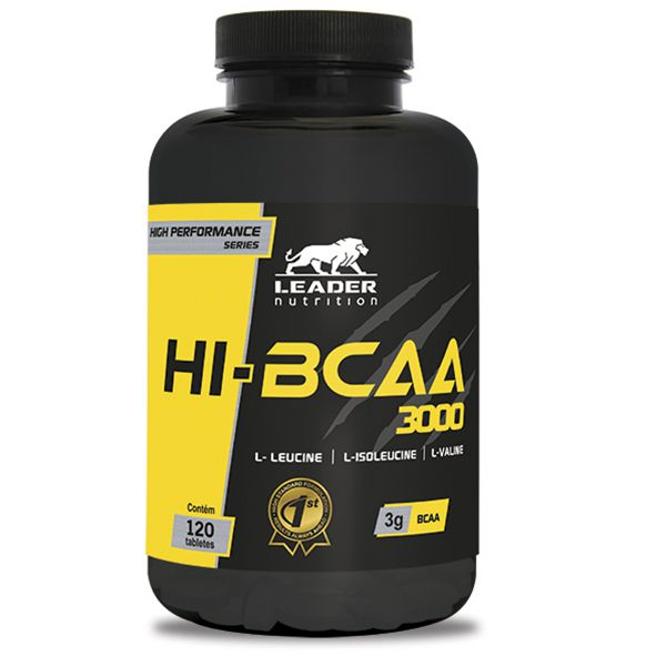 Hi-BCAA 3000 Leader Nutrition - 120 tabletes