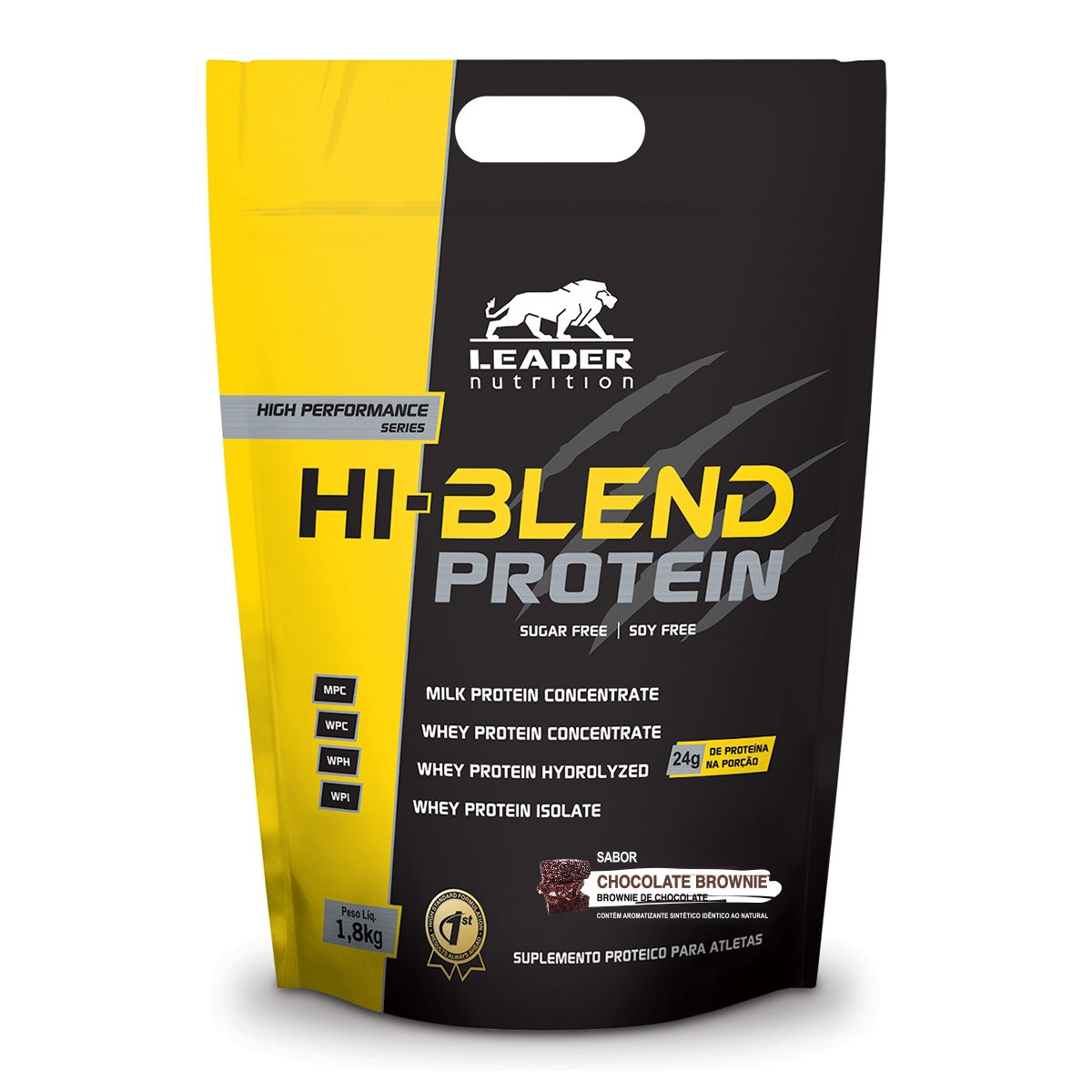 Hi - Blend Protein Leader Nutrition - 1.8kg
