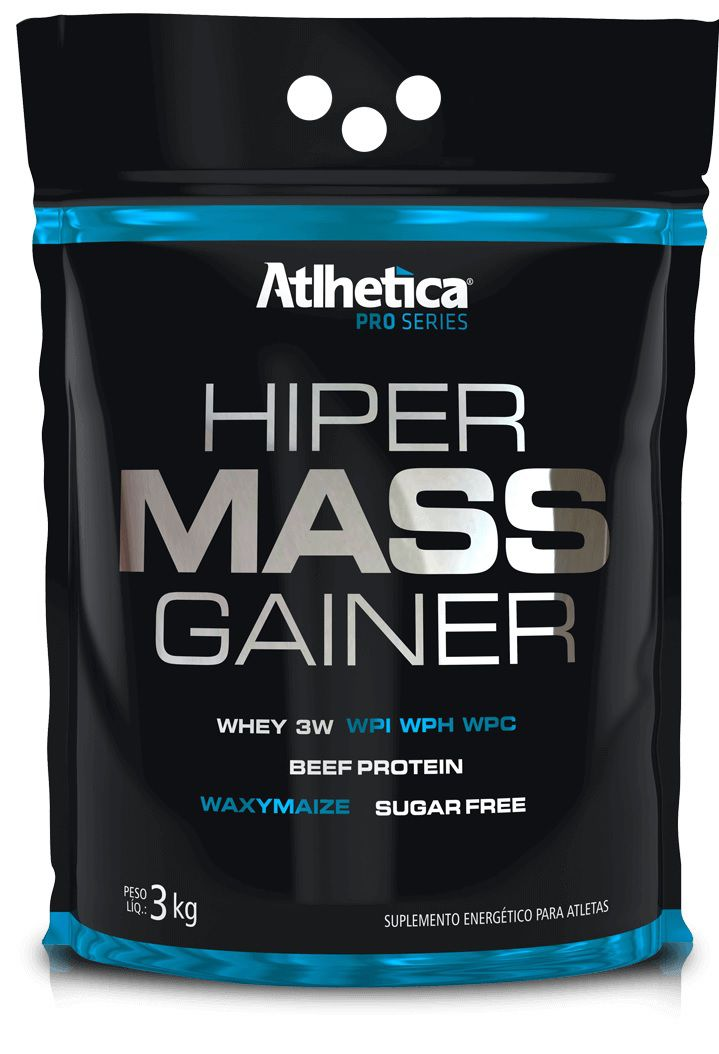 Hiper Mass Gainer Atlhetica Nutrition - 3kg