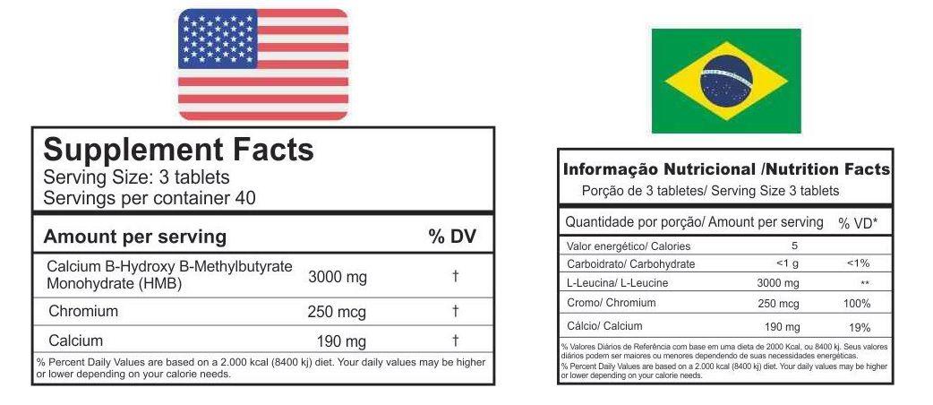 HMB Labz Under Labz - 120 tabletes