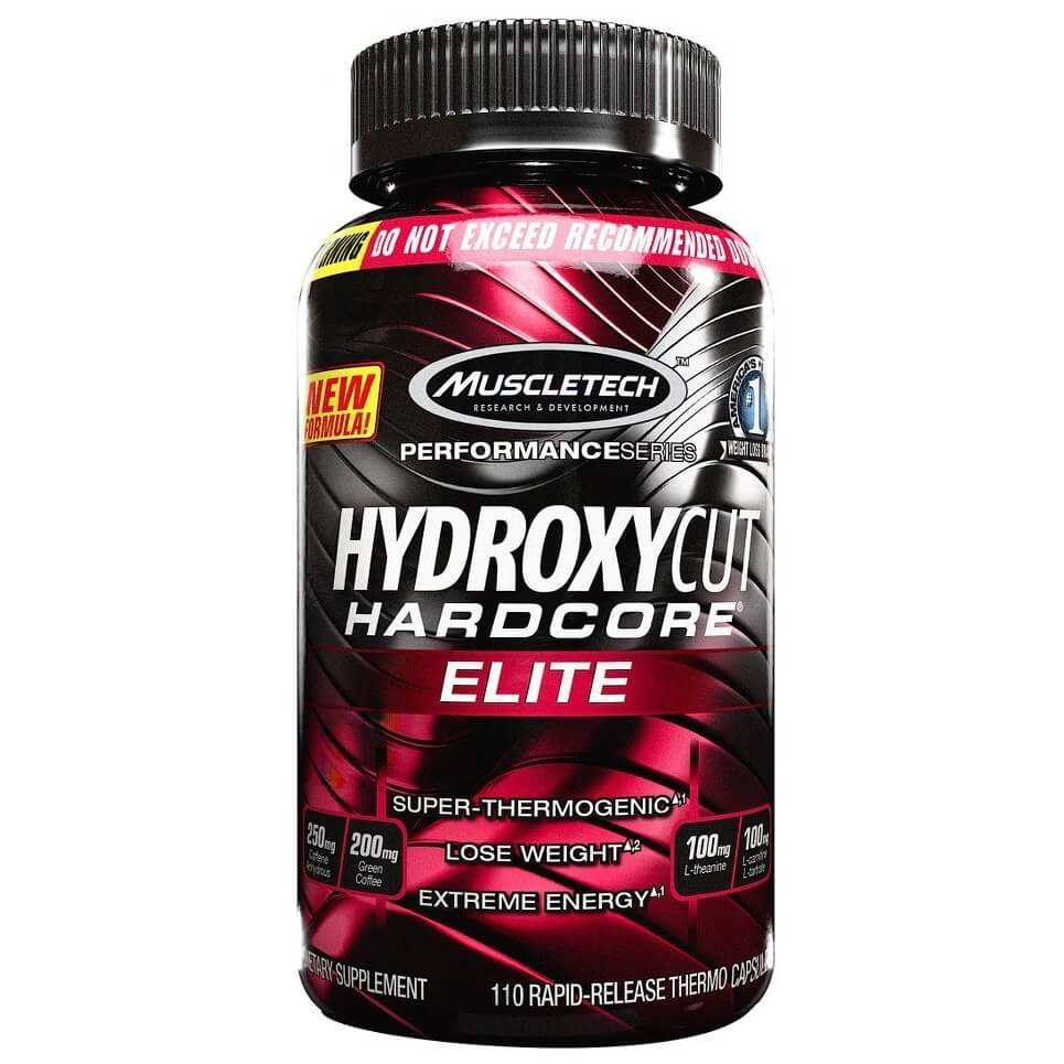 Hydroxycut Elite MuscleTech - 100 caps