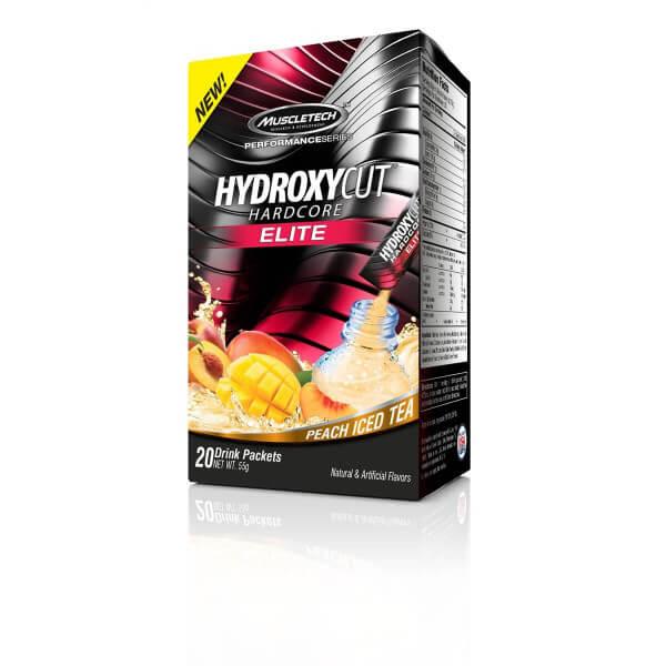 HydroxyCut Hardcore Elite MuscleTech - 20 sachês