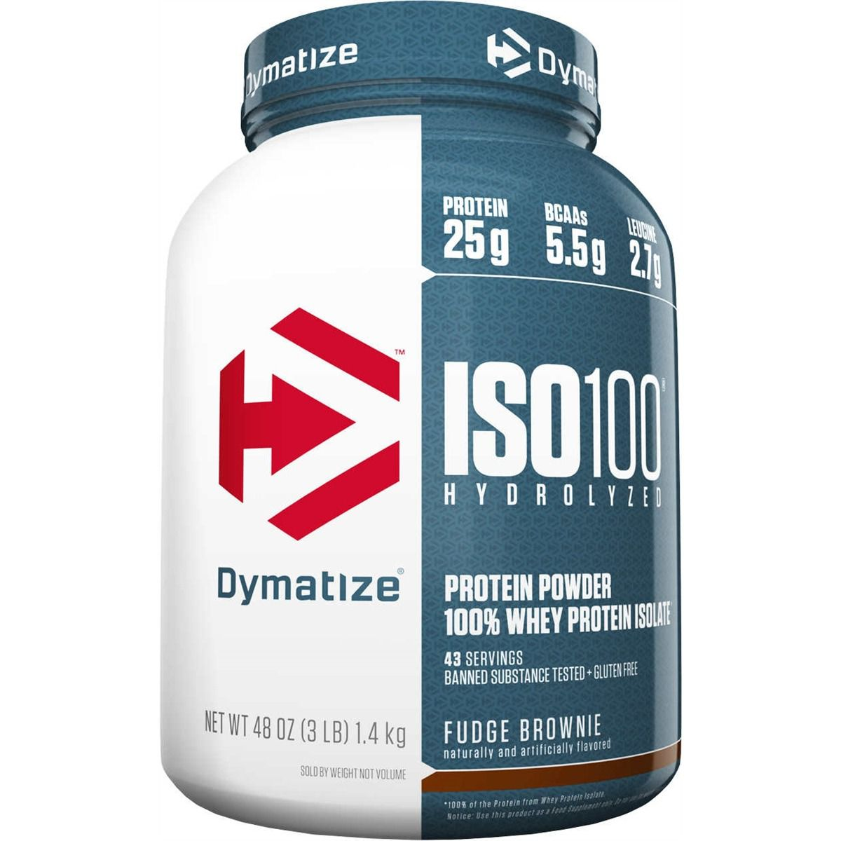 ISO 100 Hydrolyzed Dymatize Nutrition - 1.3kg