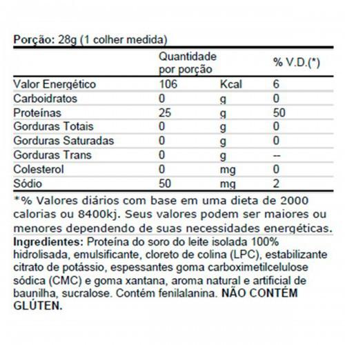 ISO 100 Hydrolyzed Dymatize Nutrition - 2.3kg