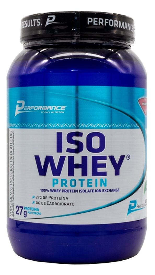 Iso Whey Protein Performance Nutrition - 900g