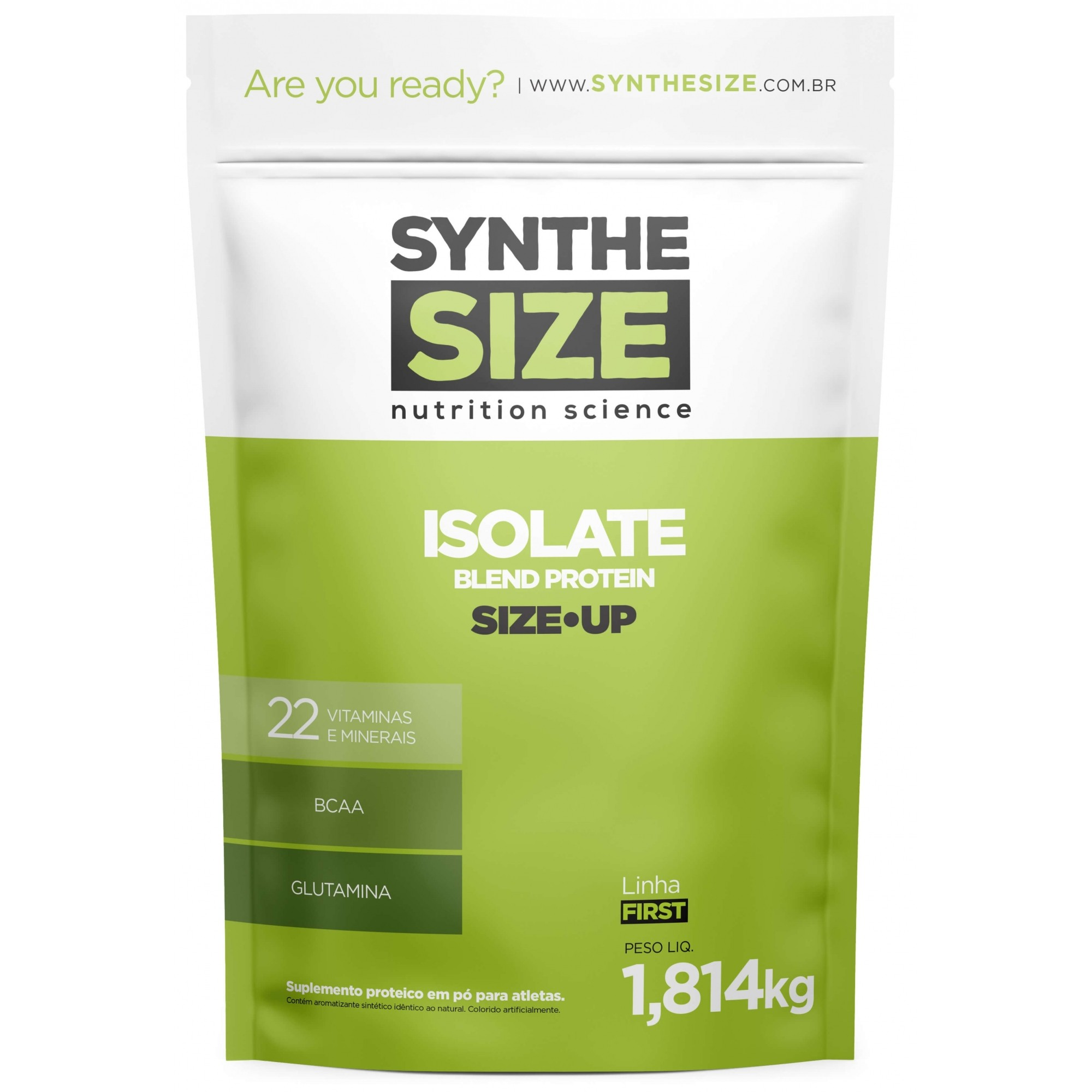Isolate Protein Blend SyntheSize - 1.8kg