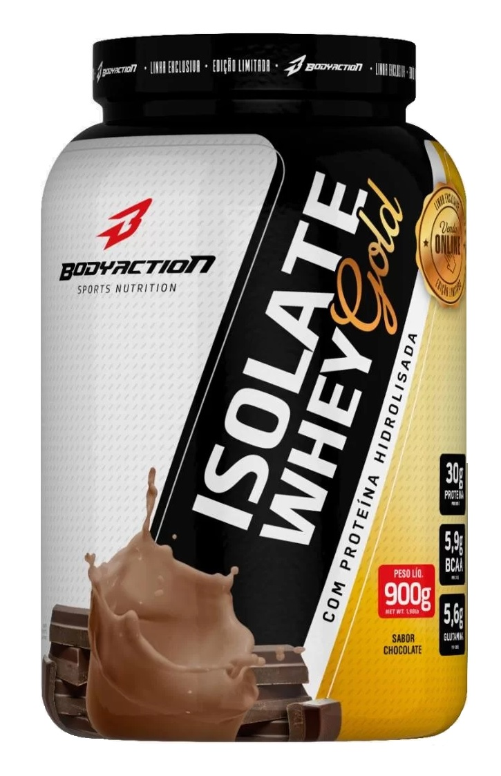 Isolate Whey Gold Body Action - 900g