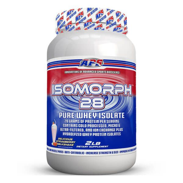 Isomorph Pure Whey Isolado APS Nutrition - 900g