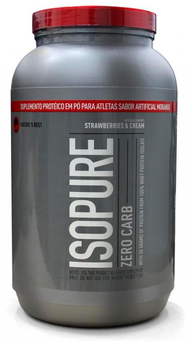 Isopure Zero Carb Nature's Best - 1.3kg