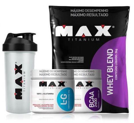 Kit Definição Muscular Max Titanium