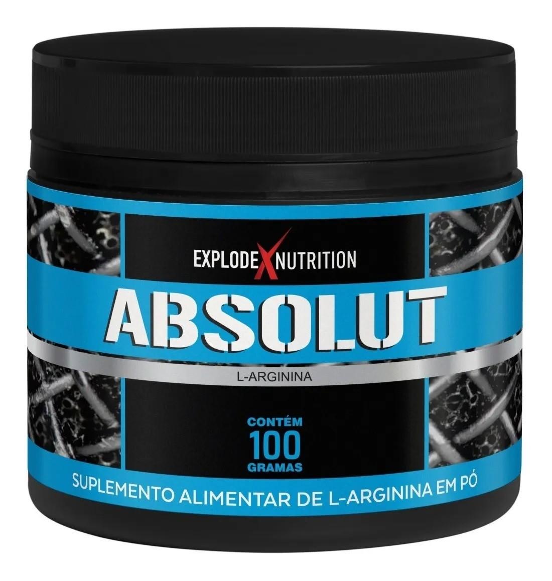L-Arginina Absolut Explode Nutrition - 100g