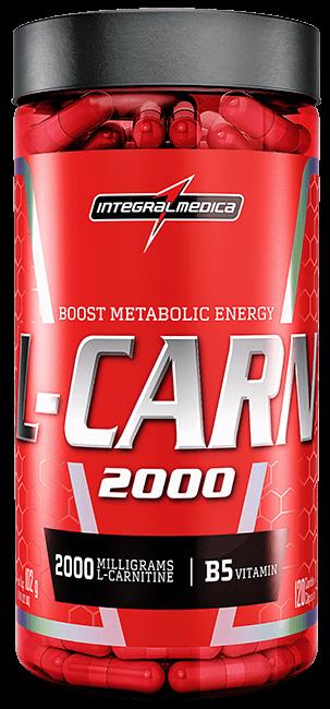 L-CARN IntegralMedica - 120 caps