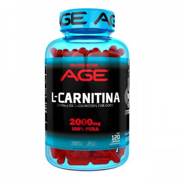 L-Carnitina AGE - 120 caps