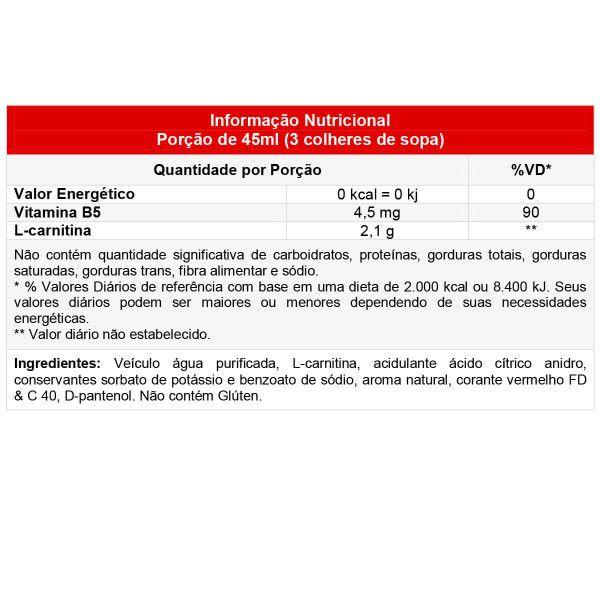 L-Carnitina Voxx Suplementos - 450ml