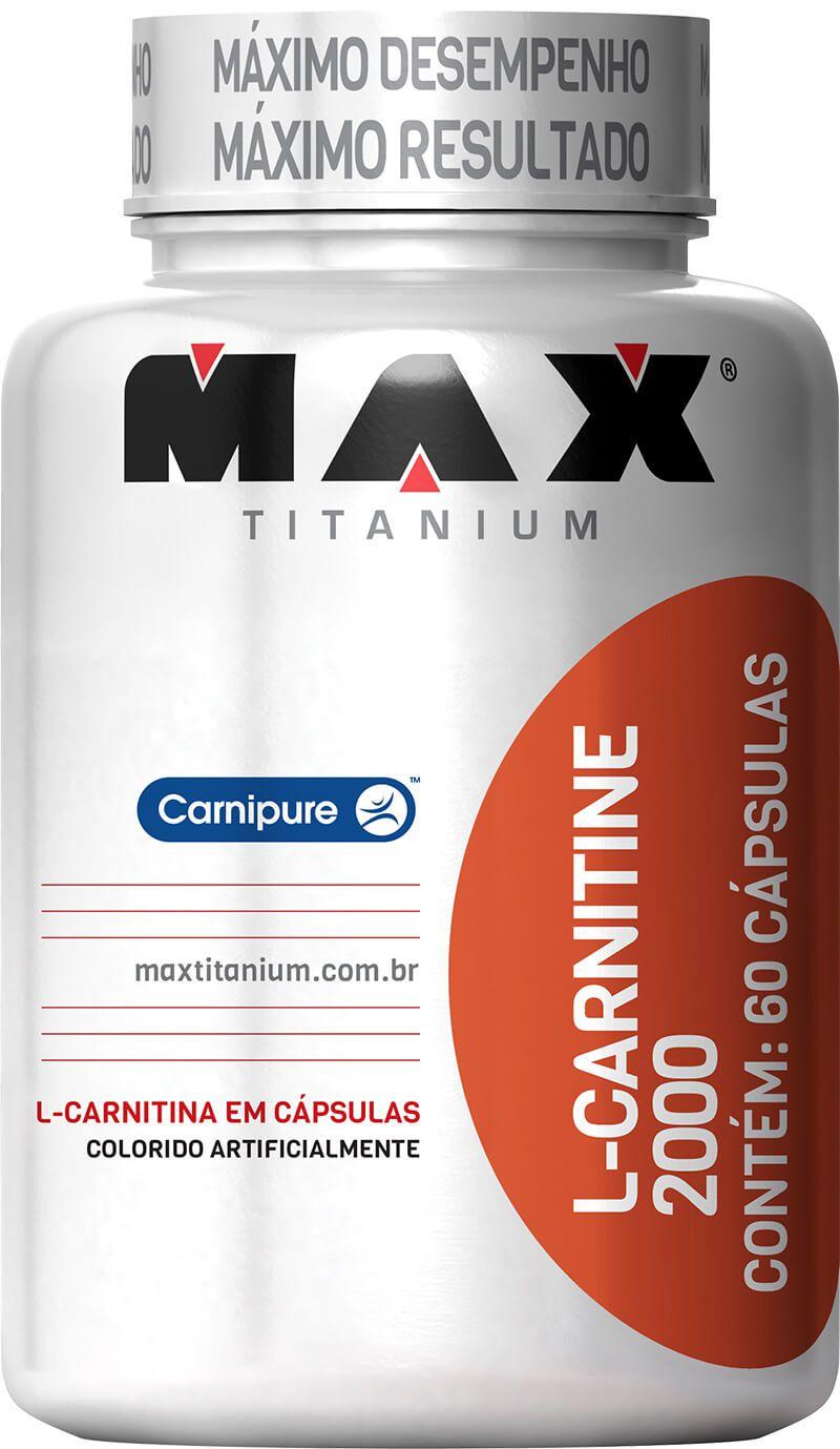 L-Carnitine 2000 Max Titanium - 60 caps