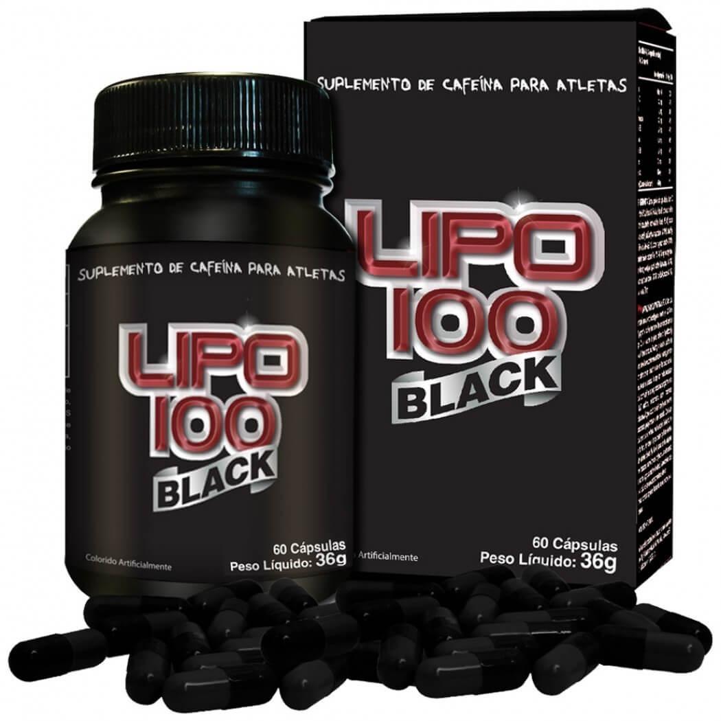 Lipo 100 Black Intlab - 60 caps