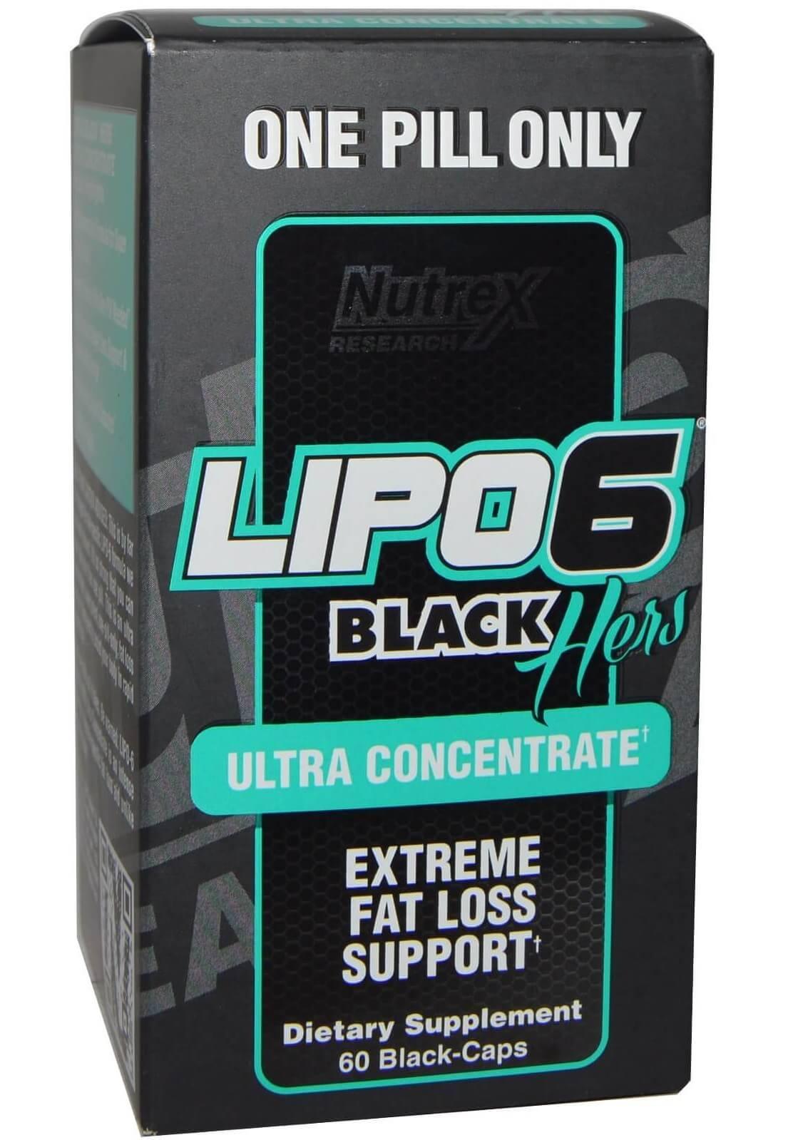 Lipo 6 Black Hers Ultra Concentrate (IMPORTADO) - 60 caps