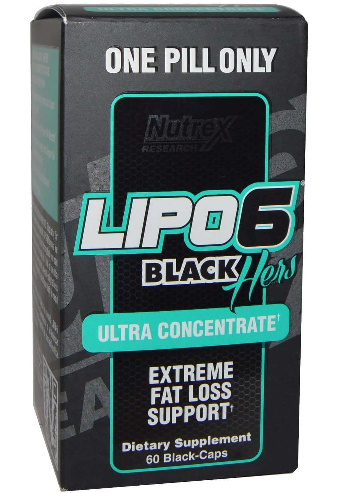 Lipo 6 Black Hers Ultra Concentrate (IMPORTADO) - 60 caps