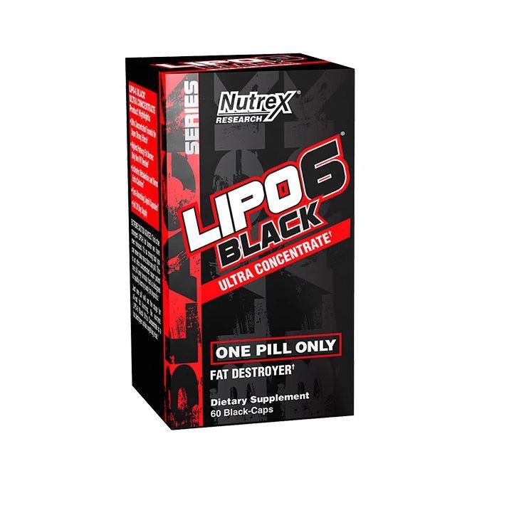 Lipo 6 Black Ultra Concentrado Nutrex Research - 60 caps