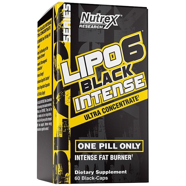 Lipo 6 Black Ultra Concentrate Intense Nutrex (IMPORTADO) - 60 caps