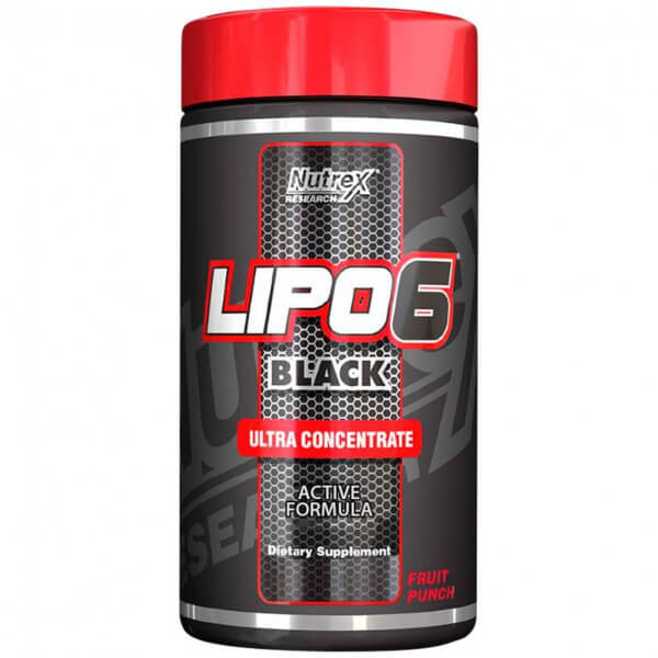 Lipo 6 Black Ultra Concentrate Nutrex Research - 50 doses