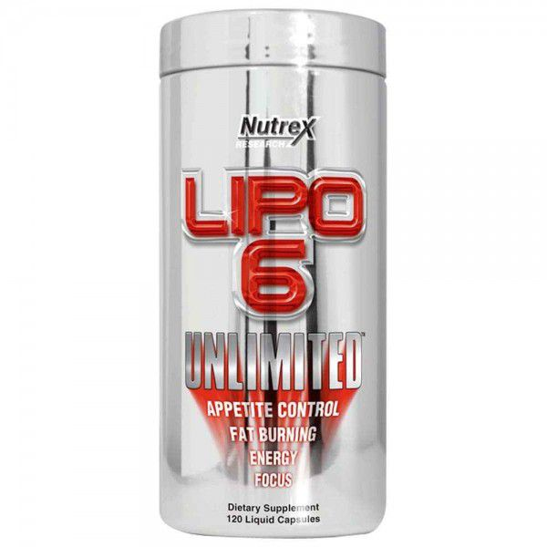 Lipo 6 Unlimited Nutrex Research - 120 caps