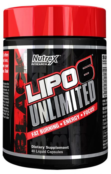 Lipo 6 Unlimited Nutrex Research - 40 caps