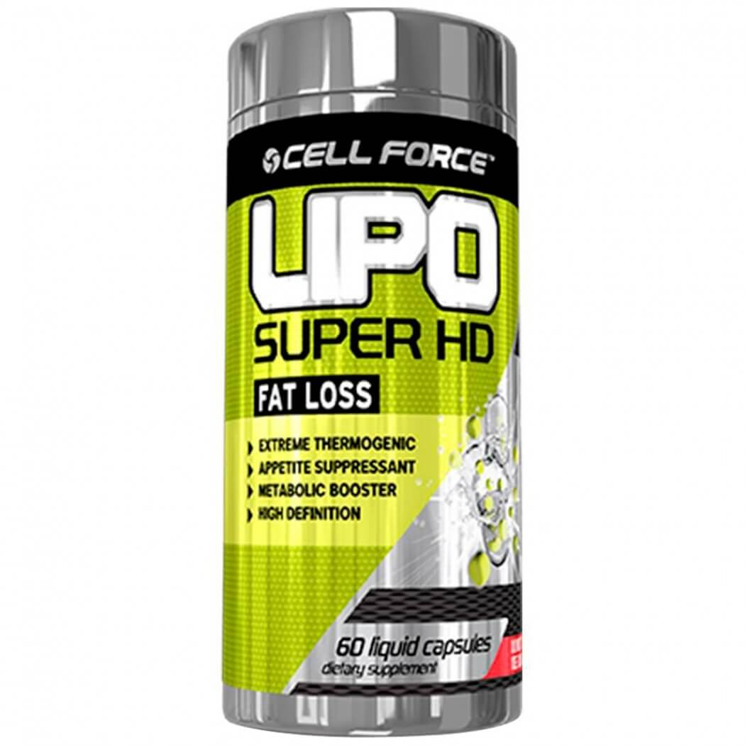 Lipo Super HD Cell Force - 60 caps