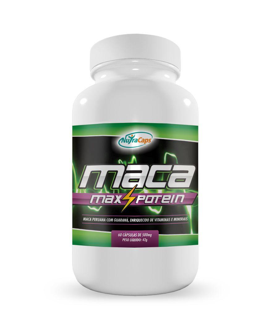 Maca Max Potein NutraCaps - 60 caps