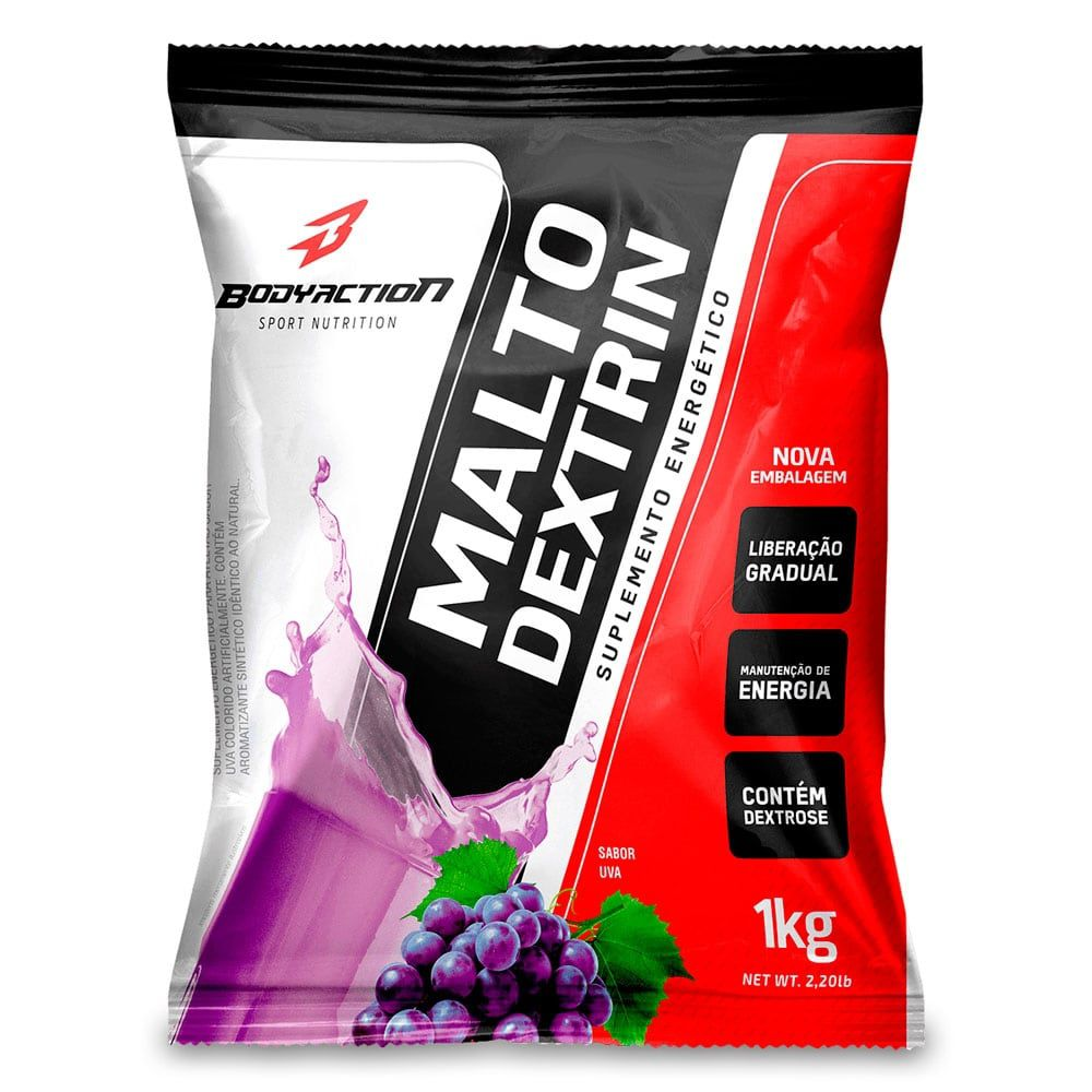 Maltodextrina Body Action - 1kg