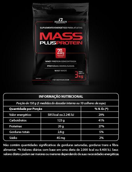 Mass Plus Protein Body Shape - 3kg