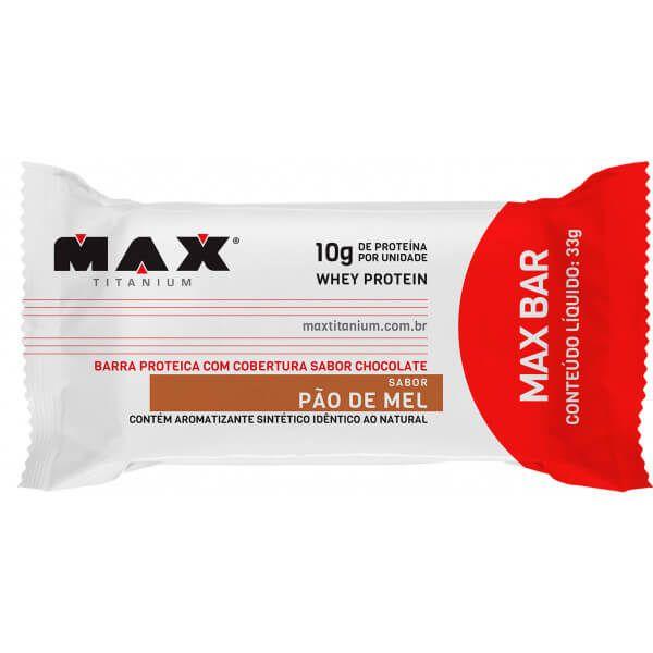 Max Bar Max Titanium 33g - (unidade)