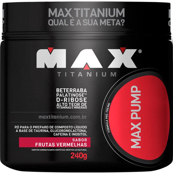 Max Pump Max Titanium - 240g