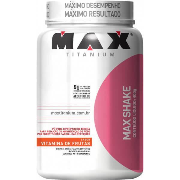 Max Shake Max Titanium - 400g