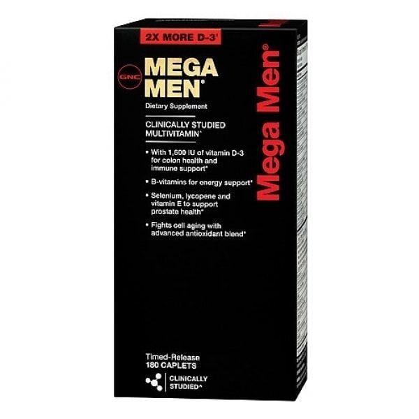 Mega Men GNC - 180 caps