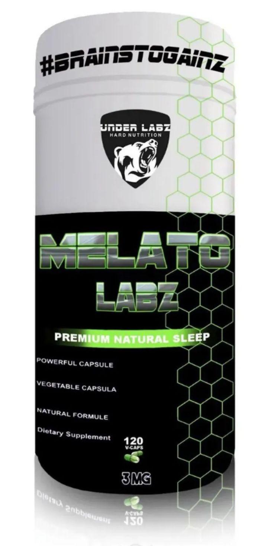 Melatonina Labz 3mg Under Labz - 120 caps
