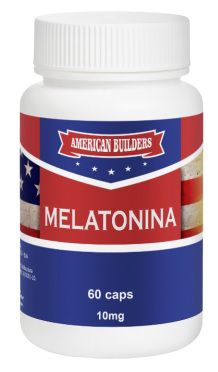 Melatonina 10mg American Builders - 60 caps